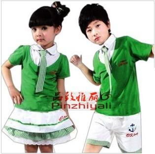 小学生夏季校服设计图